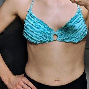 VICTORIA'S SECRET halter bikini top +MERMAID VIBES